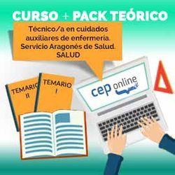 Curso + Pack Teórico. Técnico/a en cuidados auxiliares de enfermería. Servicio Aragonés de Salud. SALUD