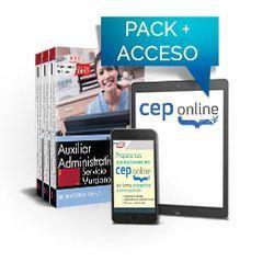 Pack de libros y Acceso gratuito. Auxiliar Administrativo. Servicio Murciano de Salud