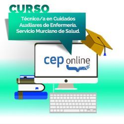 Curso. Técnico/a en Cuidados Auxiliares de Enfermería. Servicio Murciano de Salud