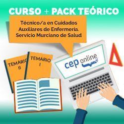 Curso + Pack Teórico. Técnico/a en Cuidados Auxiliares de Enfermería. Servicio Murciano de Salud