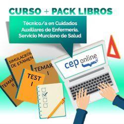 Curso + Pack Libros. Técnico/a en Cuidados Auxiliares de Enfermería. Servicio Murciano de Salud