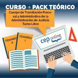 Curso + Pack Teórico. Cuerpo de Tramitación Procesal y Administrativa de la Administración de Justicia. Turno Libre