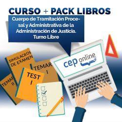 Curso + Pack Libros. Cuerpo de Tramitación Procesal y Administrativa de la Administración de Justicia. Turno Libre