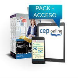 Pack de libros y Acceso gratuito. Cuerpo de Auxilio Judicial de la Administración de Justicia. Turno Libre