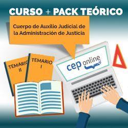 Curso + Pack Teórico. Cuerpo de Auxilio Judicial de la Administración de Justicia