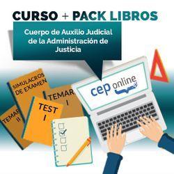 Curso + Pack Libros. Cuerpo de Auxilio Judicial de la Administración de Justicia