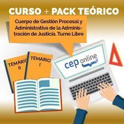 Curso + Pack Teórico. Cuerpo de Gestión Procesal y Administrativa de la Administración de Justicia. Turno Libre