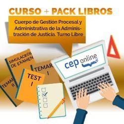 Curso + Pack Libros. Cuerpo de Gestión Procesal y Administrativa de la Administración de Justicia. Turno Libre
