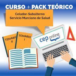 Curso + Pack Teórico. Celador-Subalterno. Servicio Murciano de Salud
