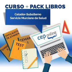 Curso + Pack Libros. Celador-Subalterno. Servicio Murciano de Salud