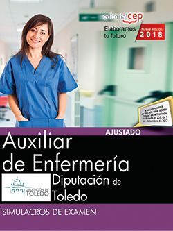 Auxiliar de Enfermería. Diputación de Toledo. Simulacros de examen