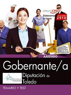 Gobernante/a. Diputación de Toledo. Temario y test
