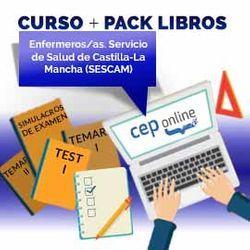 Curso + Pack Libros. Enfermeros/as. Servicio de Salud de Castilla - La Mancha (SESCAM)