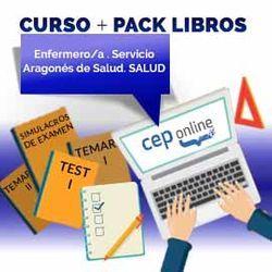 Curso + Pack Libros. Enfermero/a. Servicio Aragonés de Salud. SALUD