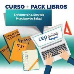 Curso + Pack Libros. Enfermero/a. Servicio Murciano de Salud