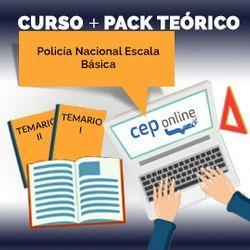 Curso + Pack Teórico. Policía Nacional Escala Básica