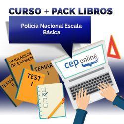 Curso + Pack Libros. Policía Nacional Escala Básica