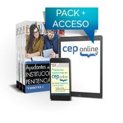 Pack de libros y Acceso gratuito. Ayudantes de Instituciones Penitenciarias