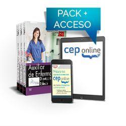 Pack de libros y Acceso gratuito. Auxiliar de Enfermería. Diputación de Toledo