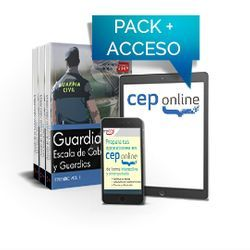 Pack de libros y Acceso gratuito. Guardia Civil  Escala de Cabos y Guardias