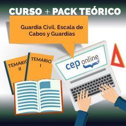 Curso + Pack Teórico. Guardia Civil Escala de Cabos y Guardias
