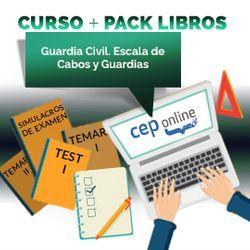 Curso + Pack Libros. Guardia Civil Escala de Cabos y Guardias
