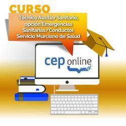 Curso. Técnico Auxiliar Sanitario, opción Emergencias Sanitarias/Conductor. Servicio Murciano de Salud