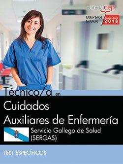 Técnico/a en Cuidados Auxiliares de Enfermería. Servicio Gallego de Salud (SERGAS). Test específicos