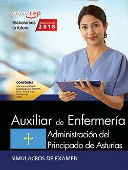 Auxiliar de Enfermería. Administración del Principado de Asturias. Simulacros de examen