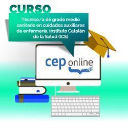 Curso. Técnico/a de grado medio sanitario en cuidados auxiliares de enfermería. Instituto Catalán de la Salud (ICS)