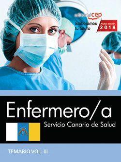 Enfermero/a. Servicio Canario de Salud. Temario Vol. III