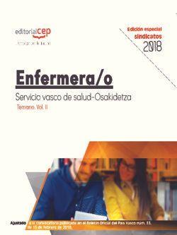 Enfermera/o. Servicio vasco de salud-Osakidetza. Temario. Vol.II (EDICIÓN ESPECIAL SINDICATOS)