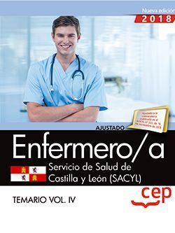 Enfermero/a. Servicio de Salud de Castilla y León (SACYL). Temario Vol.IV