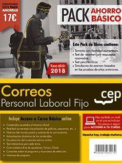 PACK AHORRO BÁSICO. Personal Laboral Correos. (Temario, Test, Simulacros, Psicotécnicos + Curso Básico)