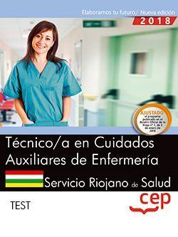 Técnico/a en Cuidados Auxiliares de Enfermería. Servicio Riojano de Salud. SERIS. Test.