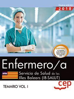 Enfermero/a. Servicio de Salud de las Illes Balears (IB-SALUT). Temario Vol. I