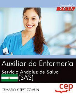 Auxiliar de Enfermería. Servicio Andaluz de Salud (SAS). Temario y test común