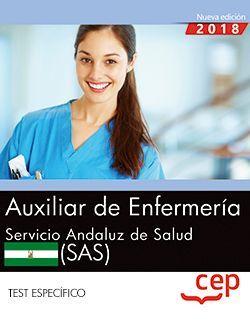 Auxiliar de Enfermería. Servicio Andaluz de Salud (SAS). Test específico