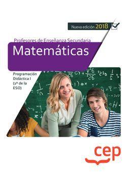 Cuerpo de Profesores de Enseñanza Secundaria. Matemáticas. Programación Didáctica I (1º de la ESO)