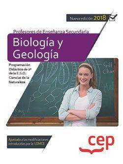 Cuerpo de Profesores de Enseñanza Secundaria. Biología y Geología. Programación Didáctica de 2º de la E.S.O. Ciencias de la Naturaleza
