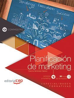 Planificación de marketing (COMM037PO). Especialidades formativas