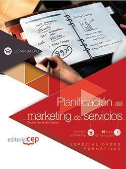 Planificación del marketing de servicios (COMM041PO). Especialidades formativas
