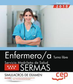 Enfermero/a. Turno libre. Servicio Madrileño de Salud (SERMAS). Simulacros de examen