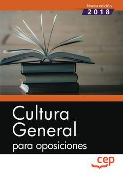 Cultura General para oposiciones