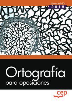 Ortografía para oposiciones