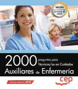 2000 preguntas para Auxiliar de Enfermería