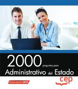 2000 preguntas para Administrativo del Estado