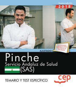 Pinche. Servicio Andaluz de Salud (SAS). Temario y test específico