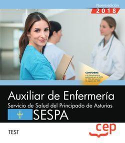 Auxiliar de Enfermería del Servicio de Salud del Principado de Asturias. SESPA. Test