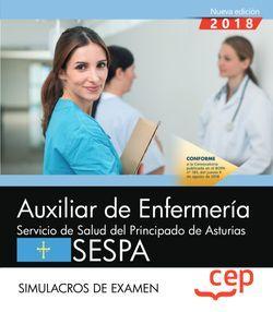 Auxiliar de Enfermería del Servicio de Salud del Principado de Asturias. SESPA. Simulacros de examen